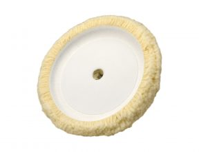 "8"" Single Sided Cupped Wool Pad"