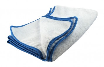 "DRYING ""Scratchless"" White SUPER PLUSH Towel"