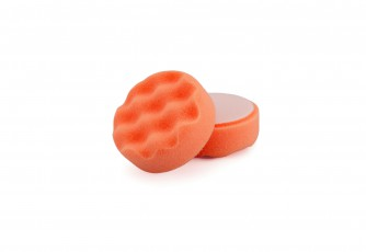 "3"" 'COOLSHINE' ORANGE Compounding GRIP Spot Pad"