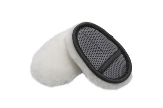 Finger Merino SWIRL-FREE Soft Wool Wash Mitt