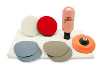 "75mm 3"" GLACIER Plastic Scratch Repair & Polishing Kit"