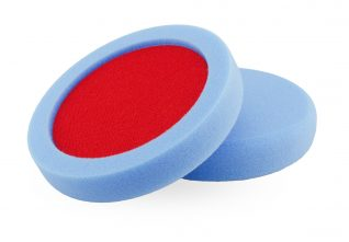 "160mm (6.5"") Blue ""ULTIMATE"" Medium R-BUFF™ Polishing Pad"
