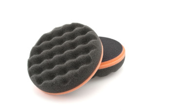 "5"" Black SOFT Waffle Finishing Pad"